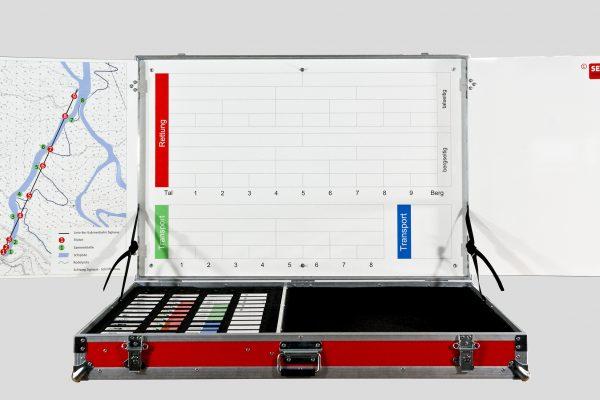 Einsatzkoffer Aufstiegsanlagen - Firma Securplan Italien