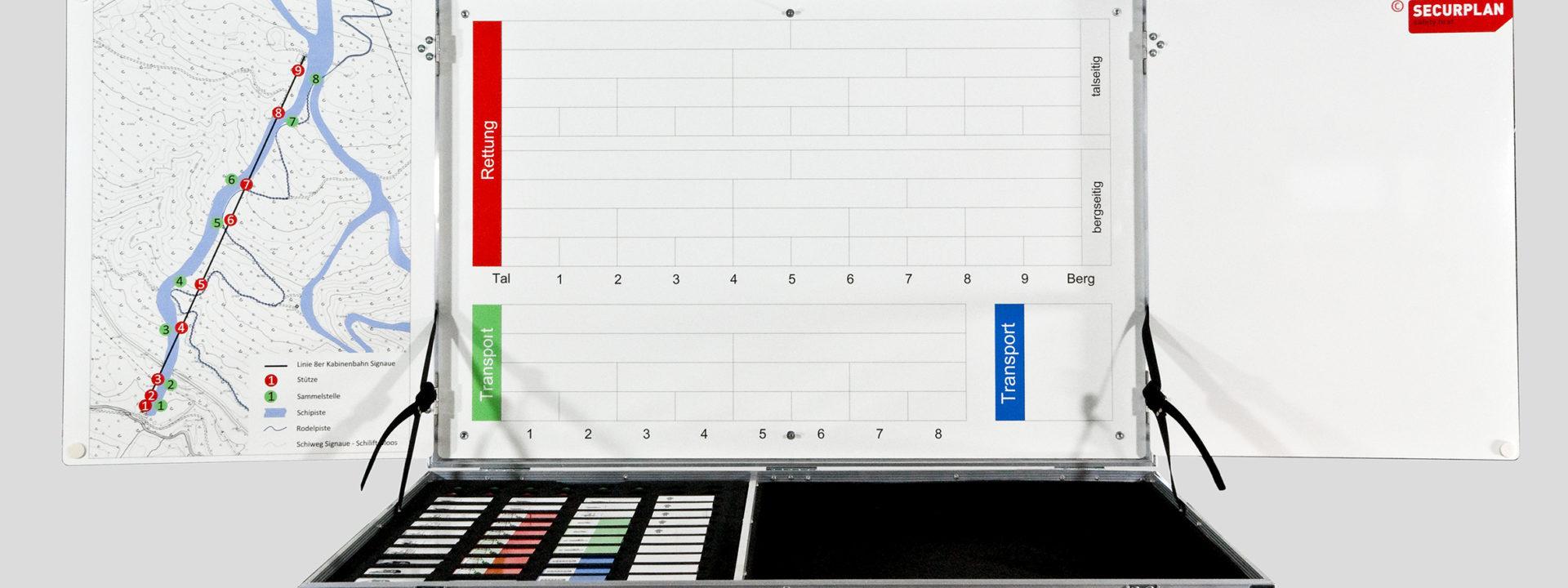 Einsatzkoffer Aufstiegsanlagen - Securplan Italien