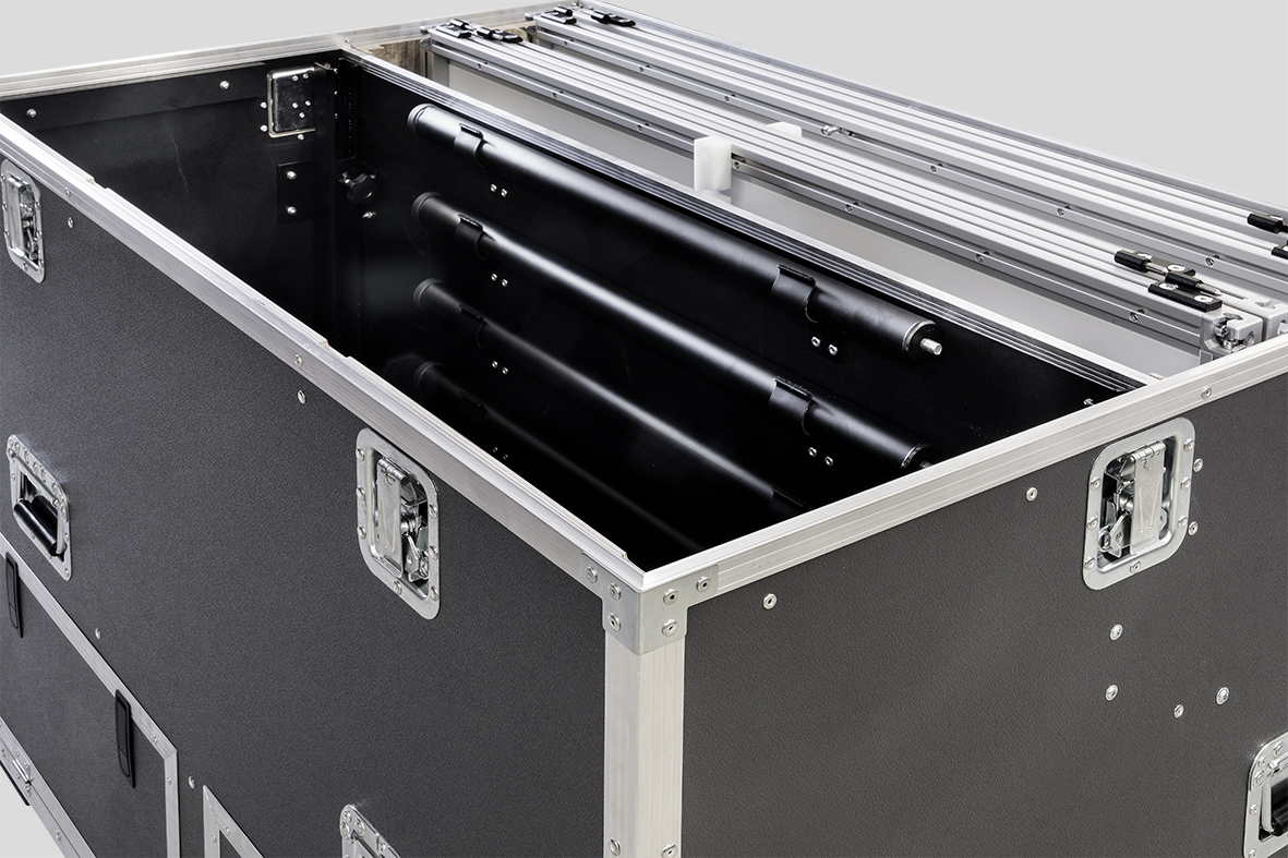 Flightcase Bauteile