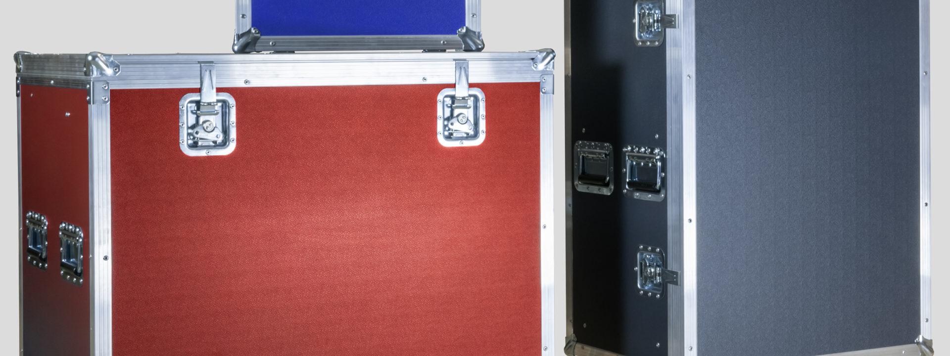 Koffer und Cases, verschiedene Farben möglich