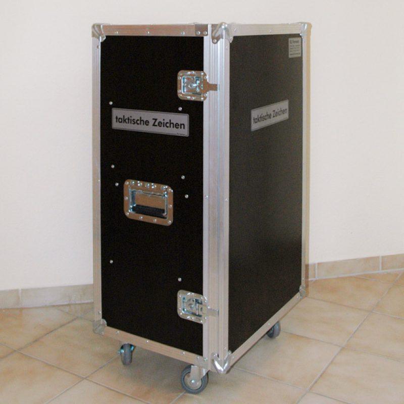 Flightcase taktische Zeichen