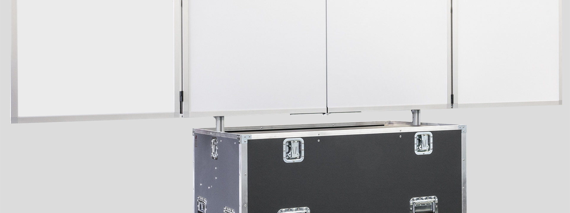 Klapptafel-Rollcontainer