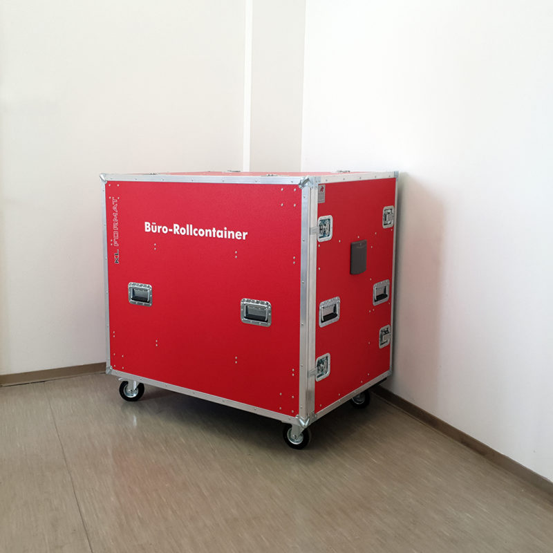 Büro Rollcontainer rot