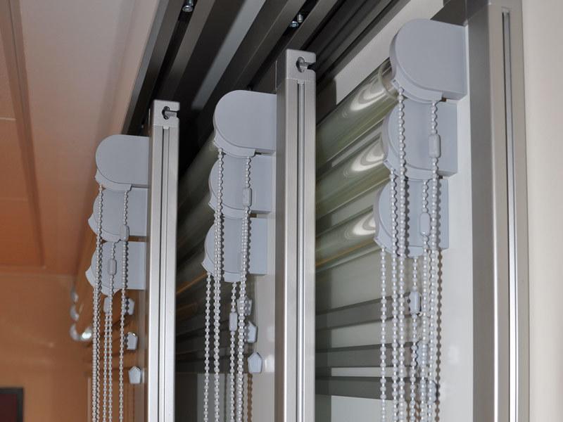 Schiebetafelanlage Detail Rollfolienanlage