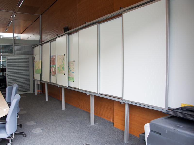 Schiebetafel-Anlage Branddirektion Frankfurt am Main