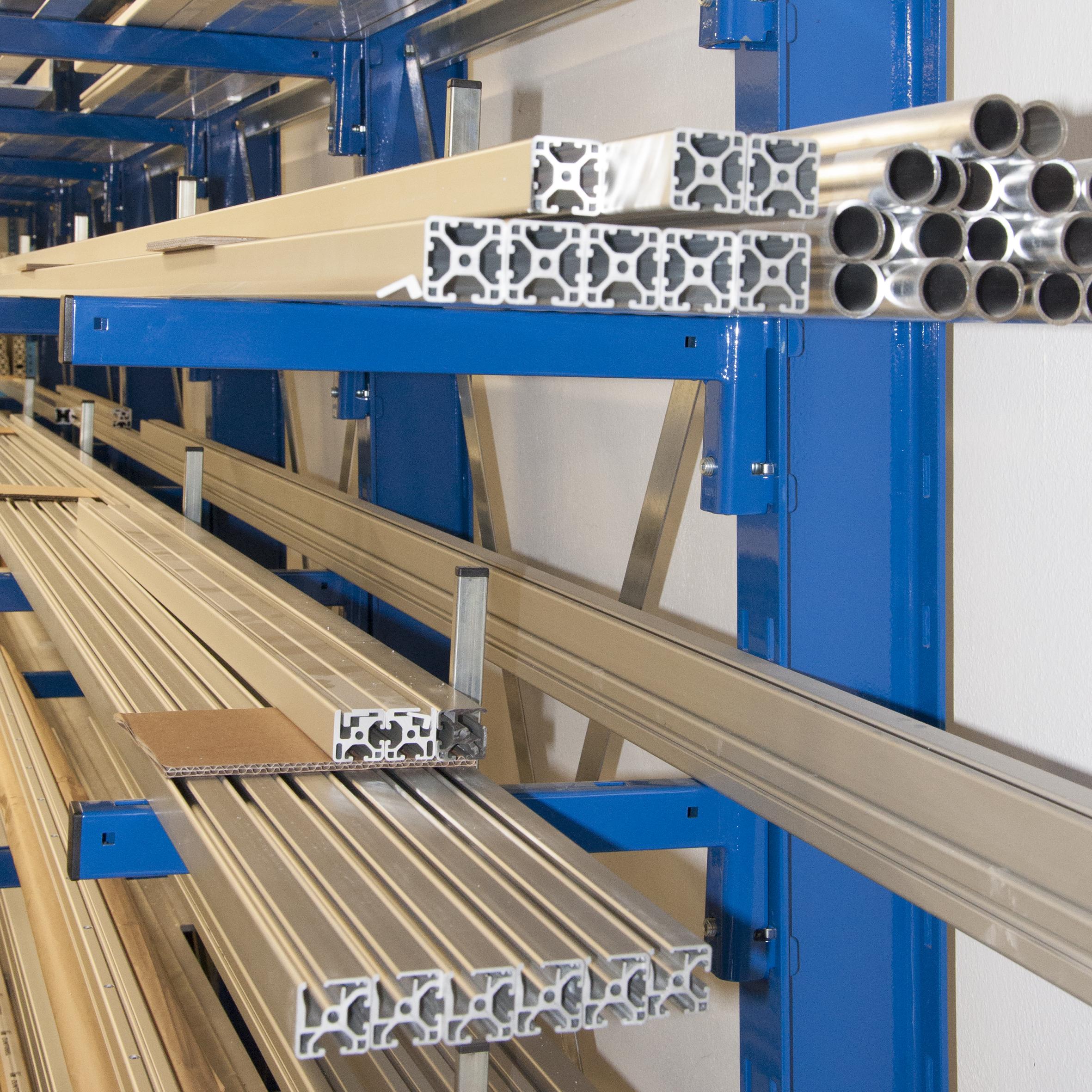 hochfeste Aluminium-Systemprofile für industrielle Anwendungen
