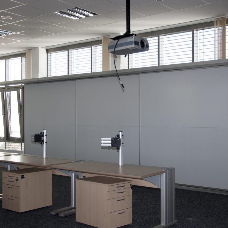 Bundesamt für Bevölkerungsschutz und Katastrophenhilfe, Bonn - Schiebetafel-Anlage - i. A. der Objekt + Design GmbH & Co. KG