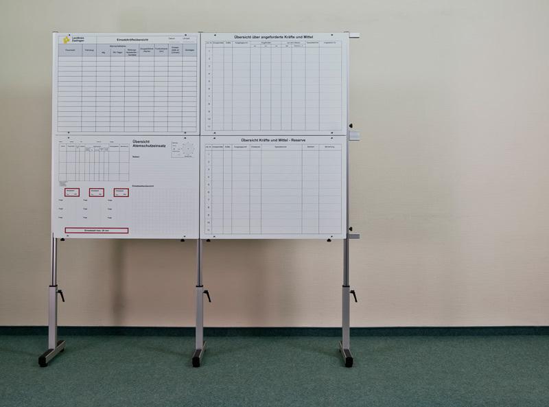 Tafelsatz Führung - Aufbau 12