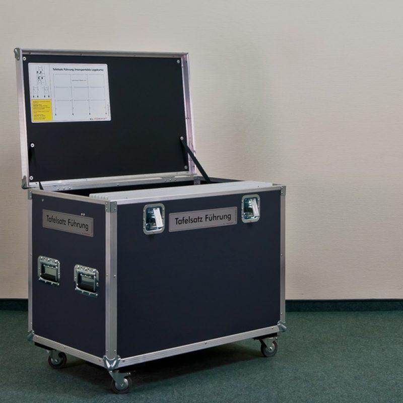 Flightcase Tafelsatz Führung