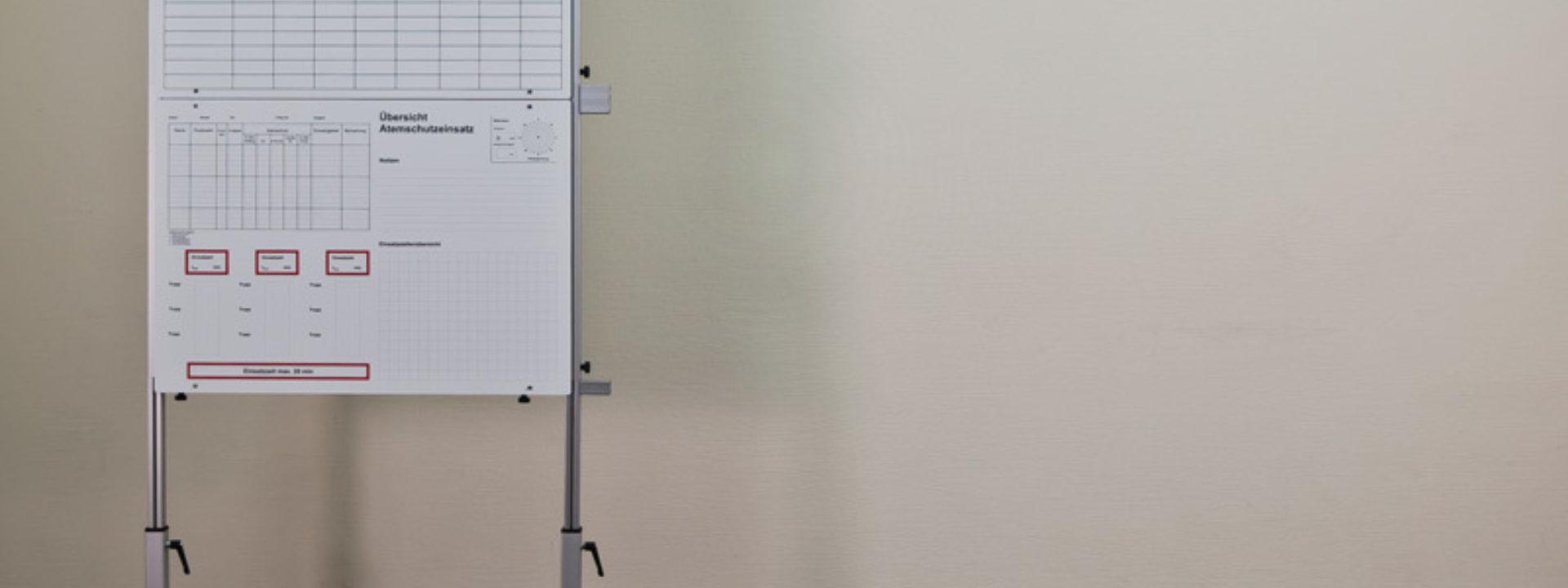 Tafelsatz Führung - Aufbau 8