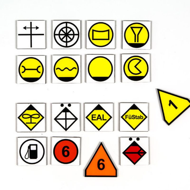 Taktisches Zeichen - Größe TEL