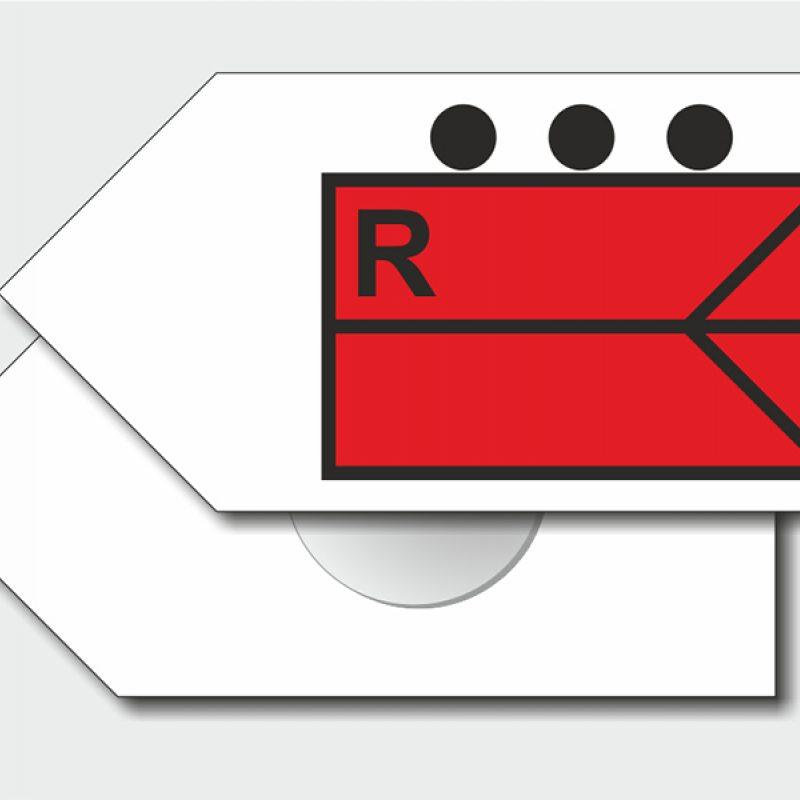 Taktische Zeichen - Pfeilform mit Kippfunktion