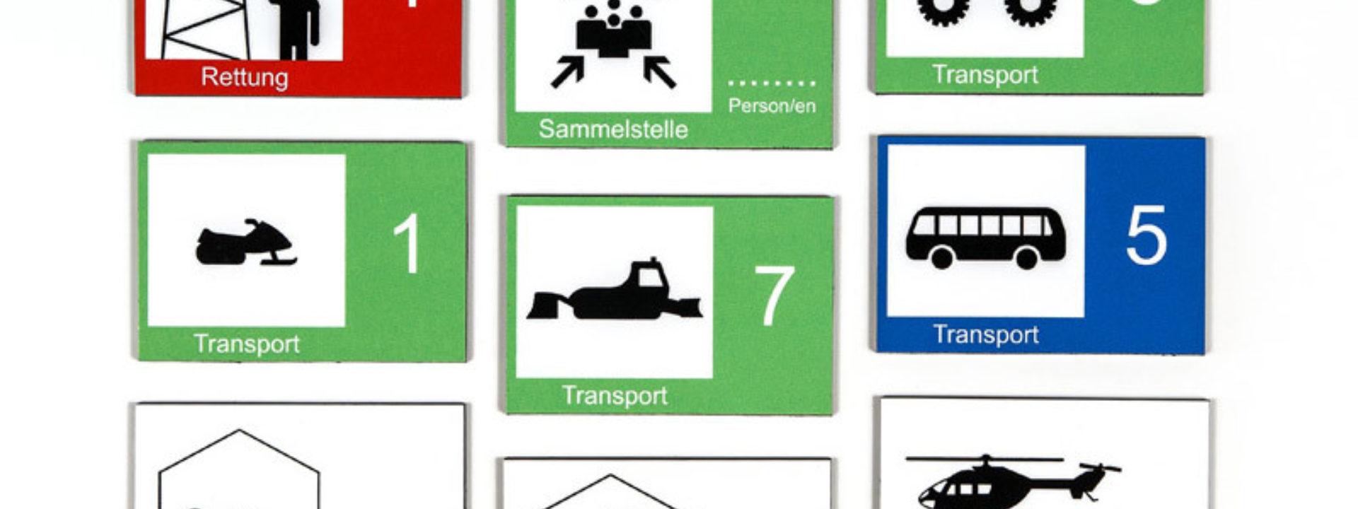 Taktische Zeichen - Securplan (Italien)