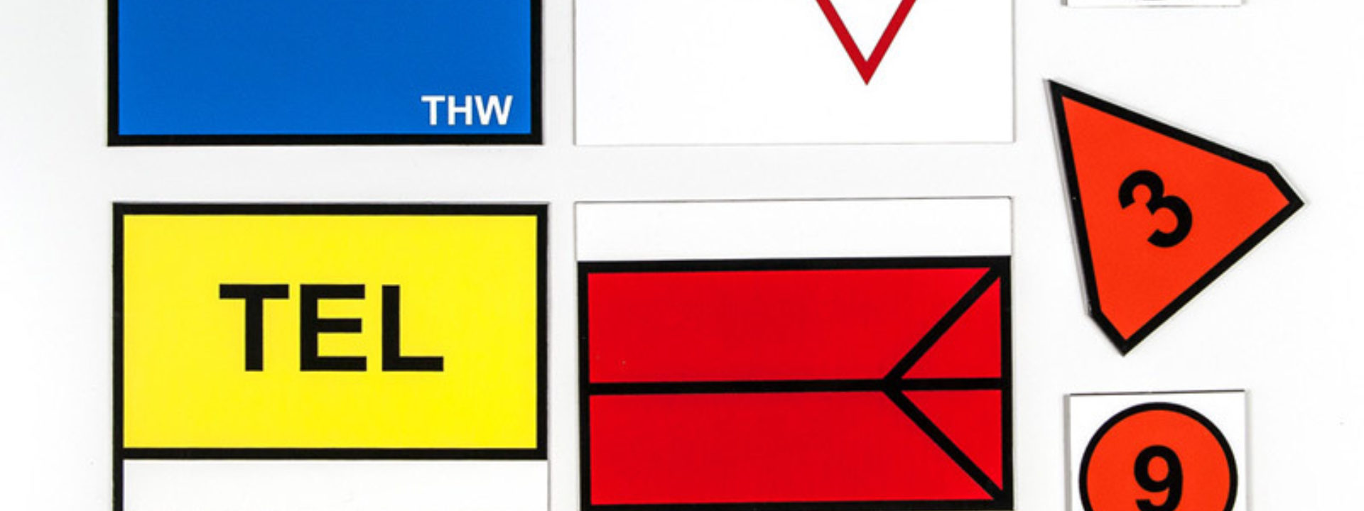 Taktische Zeichen - Größe Stab