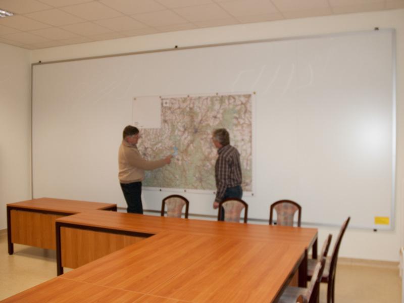 Wandtafel 6.000 x 2.500 mm, Erzgebirgskreis
