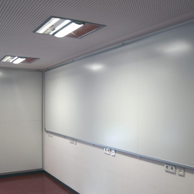 Feuerwehr Bad Homburg - 2 Wandtafeln, Größe angepasst an die vorhandenen Platzverhältnisse